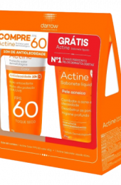 KIT ACTINE PROT FPS60 COLOR 40G + ACTINE SAB 60ML